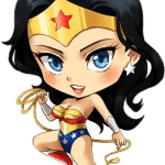wonder woman kawii