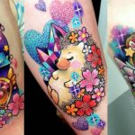 tattoo animales kawaii